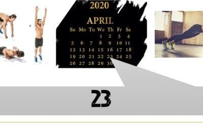 WOD du 23 Avril 2020